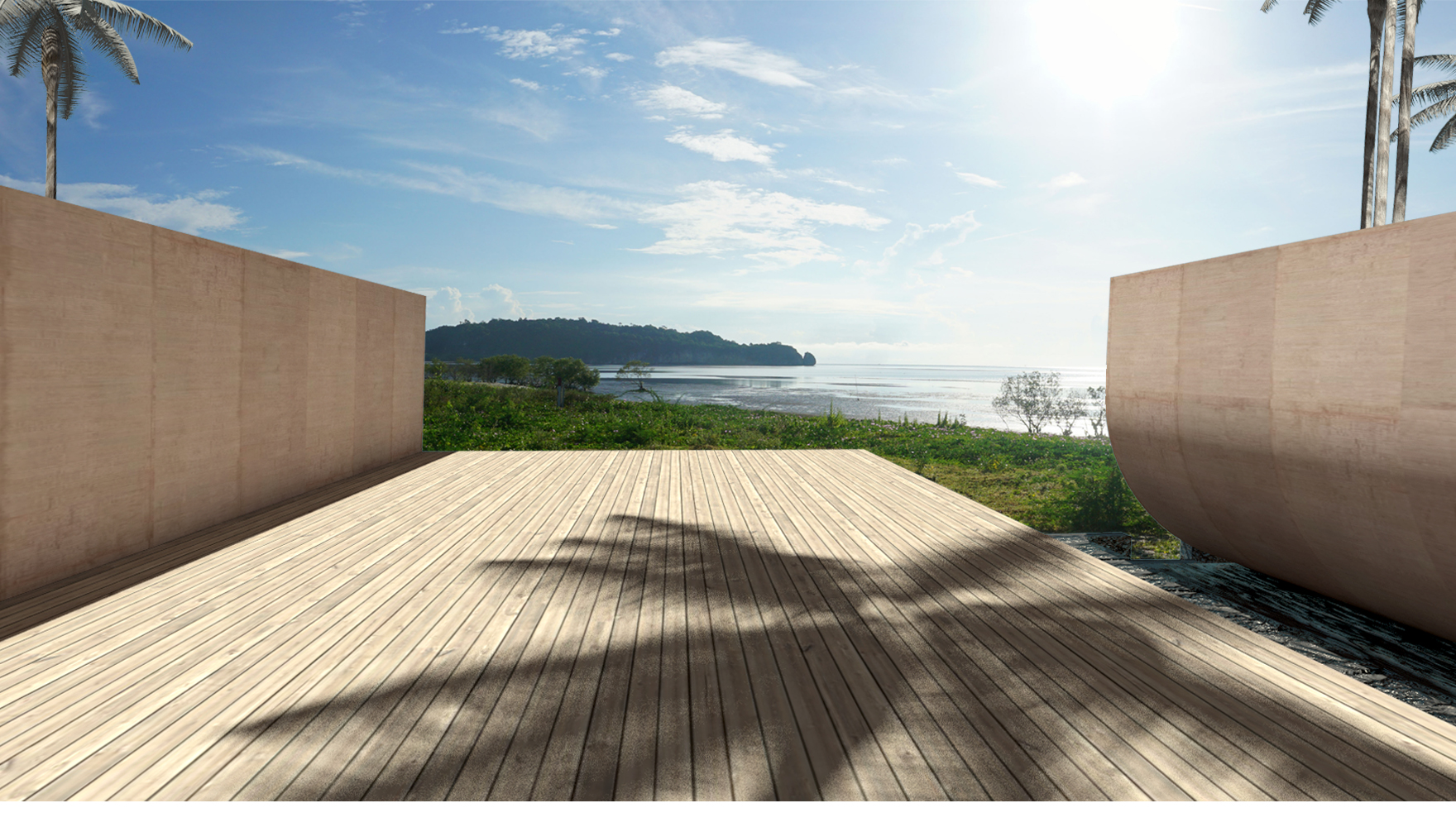 spatial practice architecture office hong kong los angeles - acts hotel private villas sea view hua hin thailand