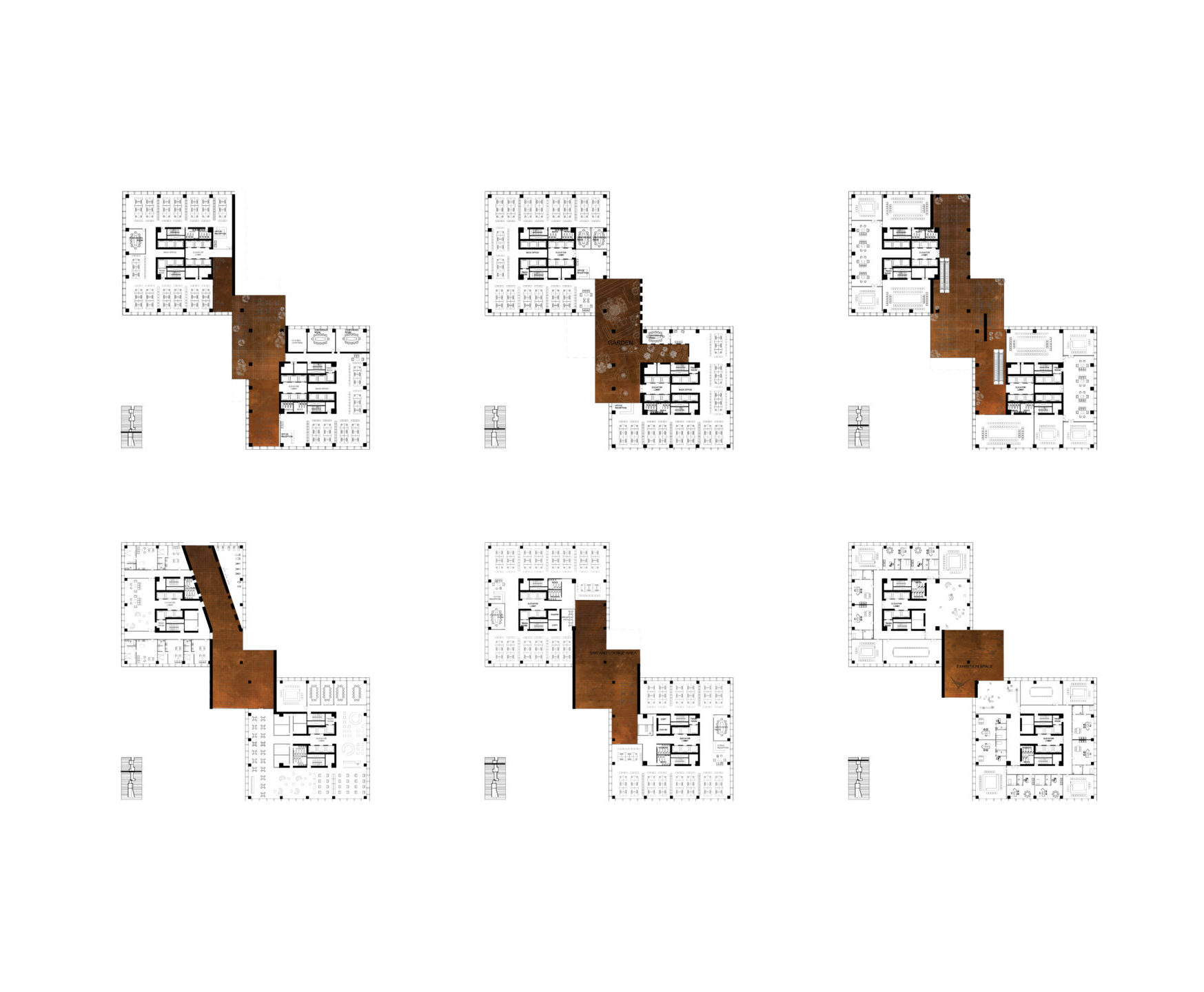 spatial practice architecture office Los Angeles Hong Kong ecospine twin towers cbd beijing china plans flexible spaces