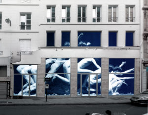 spatial practice architecture office Los Angeles Hong Kong La Squadra Showroom paris france atelier renovation facade study