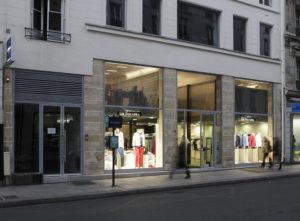 spatial practice architecture office Los Angeles Hong Kong La Squadra Showroom paris france atelier renovation storefront