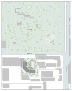 spatial practice architecture office Los Angeles Hong Kong aquatic residential tower shenyang china site plan