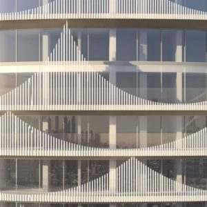 spatial practice architecture office Los Angeles Hong Kong chengcing residential tower kaohsiung taiwan facade detail
