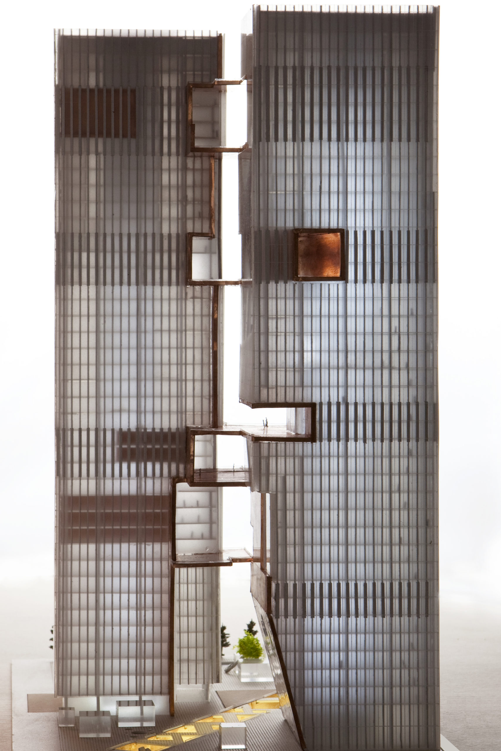 spatial practice architecture office Los Angeles Hong Kong ecospine twin towers cbd beijing china model twins