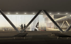 spatial practice architecture office Los Angeles Hong Kong harbin twin towers harbin china lounge
