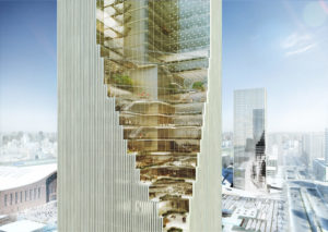 spatial practice architecture office Los Angeles Hong Kong harbin twin towers harbin china birds eye view