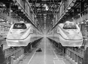 spatial practice architecture office Los Angeles Hong Kong harbin twin towers harbin china high speed train