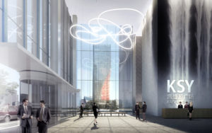 spatial practice architecture office Los Angeles Hong Kong harbin twin towers harbin china lobby
