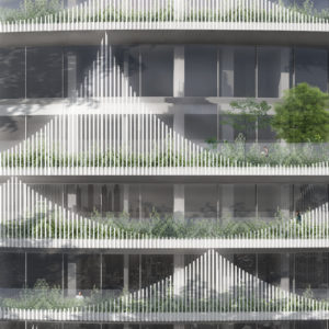 spatial practice architecture office Los Angeles Hong Kong lake residential tower facade kaohsiung taiwan