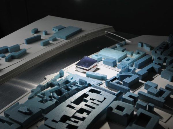 spatial practice architecture office Los Angeles Hong Kong maribor art museum slovenia model