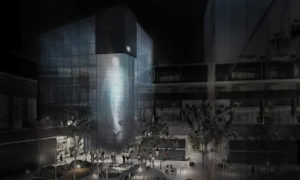 practice architecture office Los Angeles Hong Kong montblanc showroom beijing china courtyard view