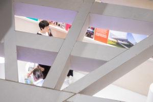 practice architecture office Los Angeles Hong Kong museum plus pavilion art basel hong kong view up detail