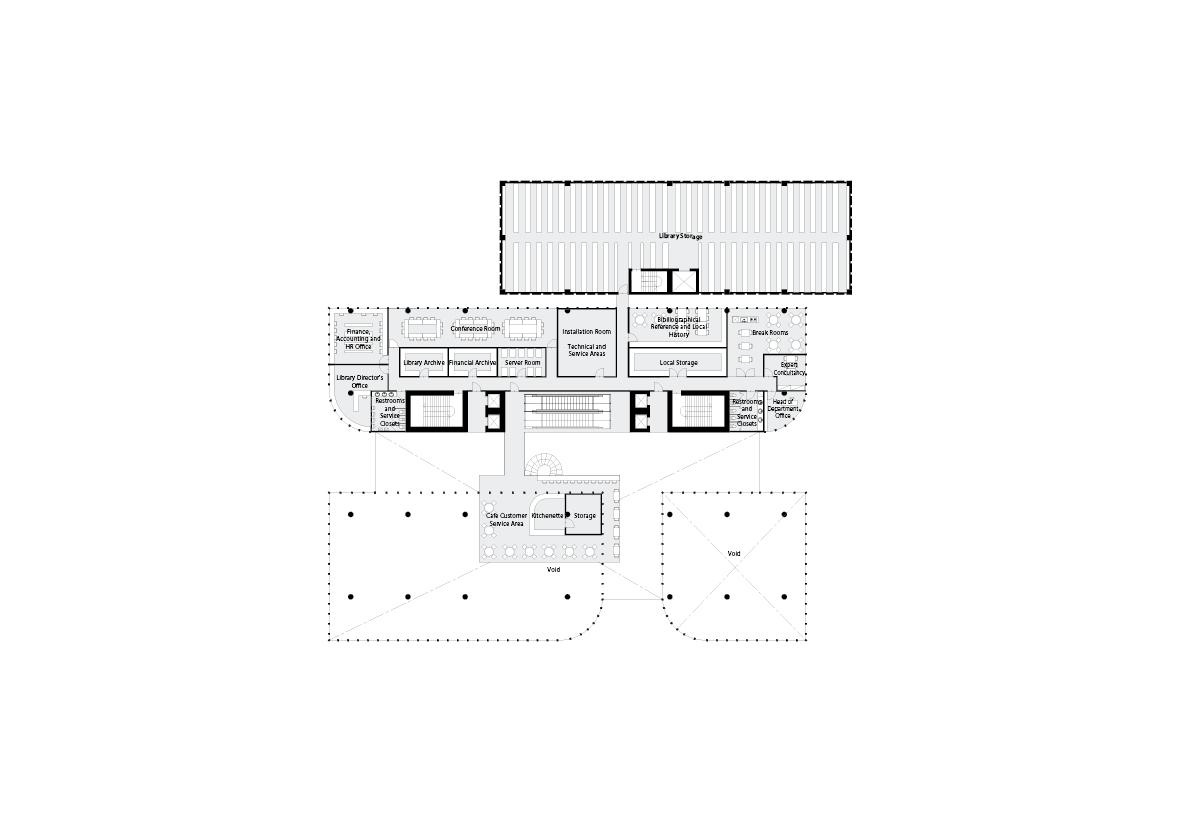 spatial practice architecture office Los Angeles Hong Kong varna public library varna bulgaria plan 01