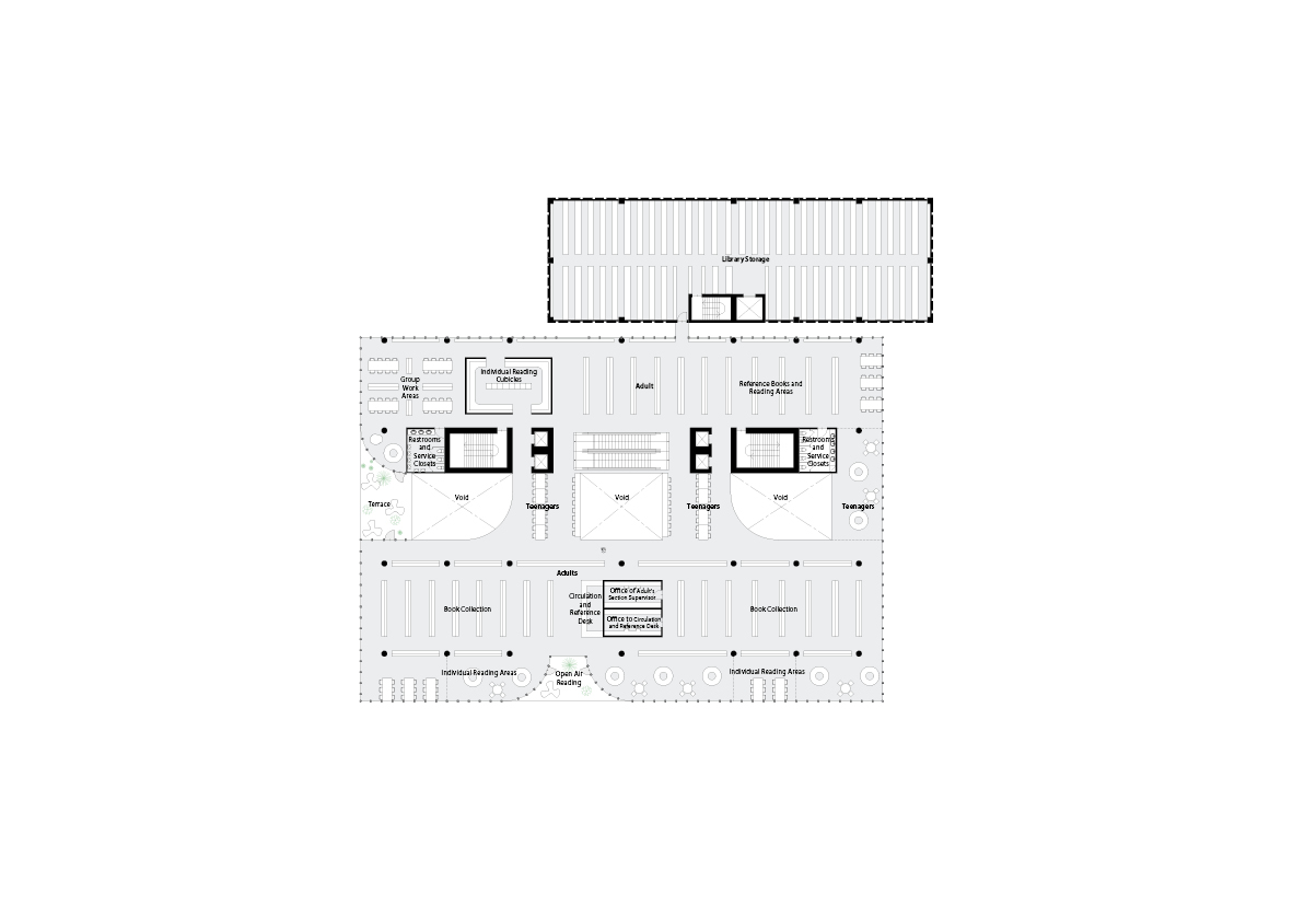 spatial practice architecture office Los Angeles Hong Kong varna public library varna bulgaria-plan-04