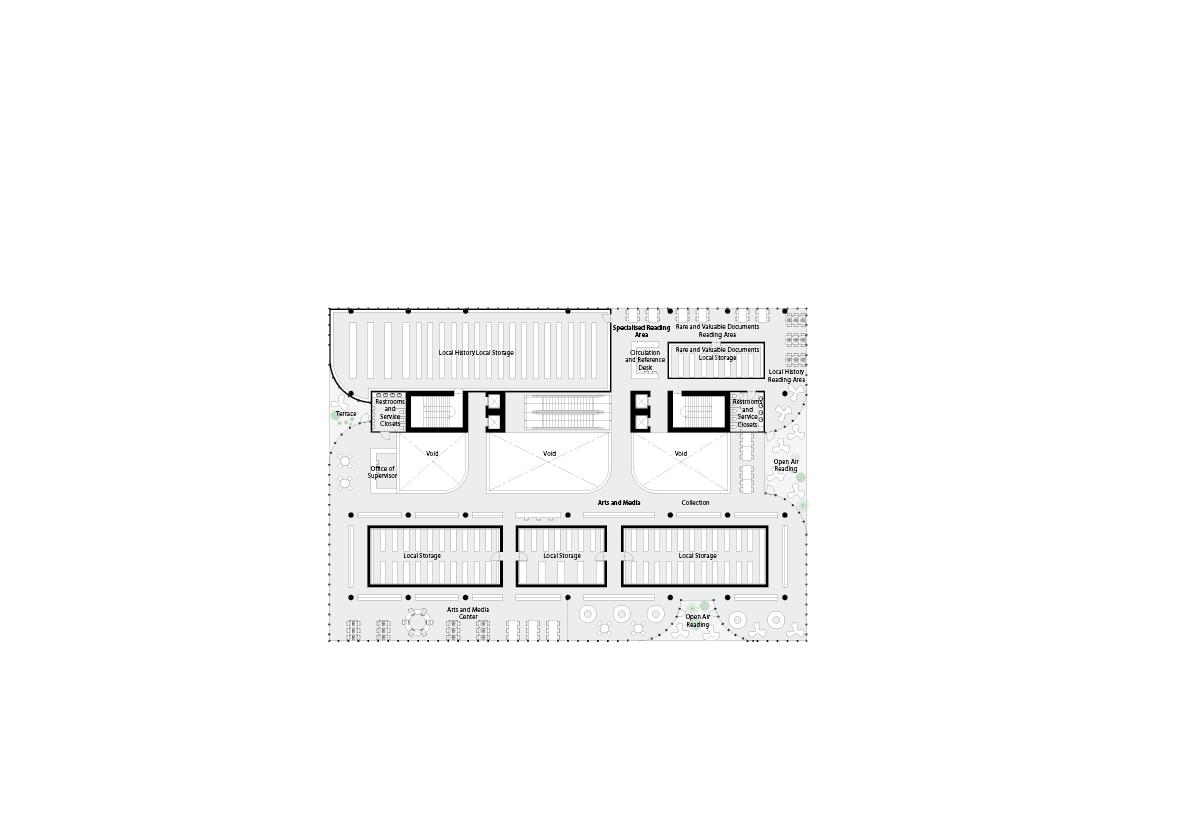 spatial practice architecture office Los Angeles Hong Kong varna public library varna bulgaria plan 05
