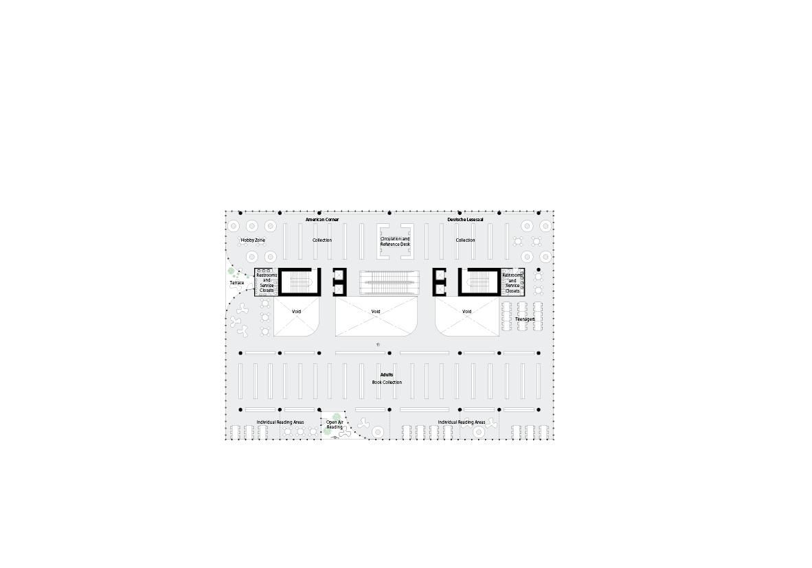 spatial practice architecture office Los Angeles Hong Kong varna public library varna bulgaria plan 06