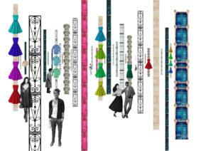 spatial practice architecture office Los Angeles Hong Kong les maraisiens showroom collage paris france