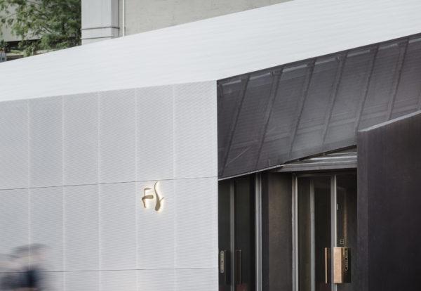 spatial practice architecture office Los Angeles Hong Kong Fleur de sel restaurant entry view