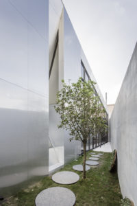 spatial practice architecture office Los Angeles Hong Kong Fleur de sel restaurant taichung taiwan garden aluminium concrete