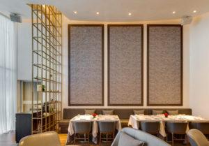 spatial practice architecture office Los Angeles Hong Kong Fleur de sel restaurant taichung taiwan interior wall canvas