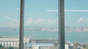 spatial practice architecture office Los Angeles Hong Kong office sea view