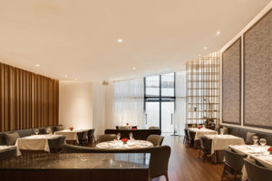 spatial practice architecture office Los Angeles Hong Kong Fleur de sel restaurant taichung taiwan fine dining curved ceiling